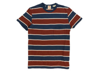 Levi's Channels 60's Style For Their Newest Striped Shirt