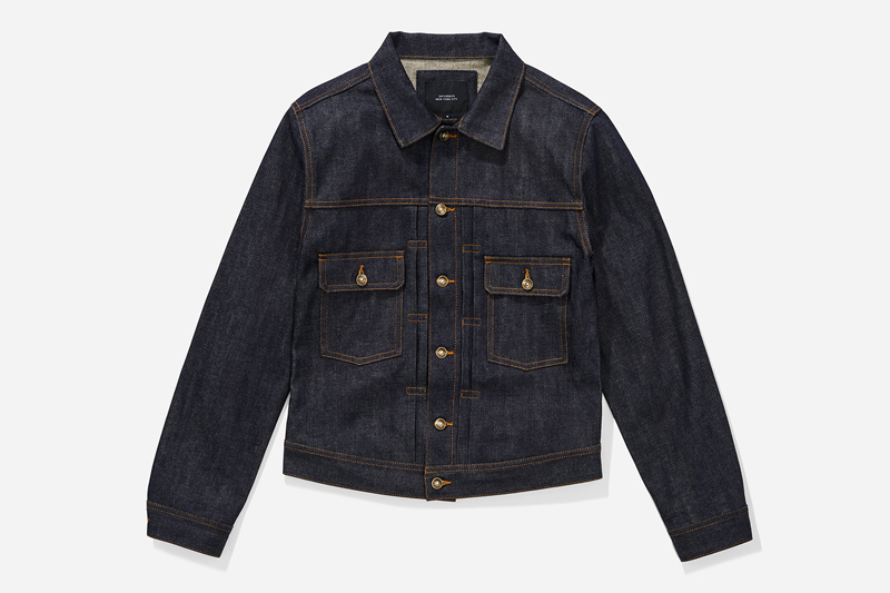 Score This Raw Denim Jacket At 50% Off